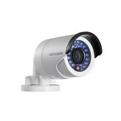 Hikvision Mini Bullet IP 4MP WDR Lente Fijo 4mm IP66 POE IR 20m