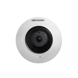 Hikvision Fisheye IP 4MP 180° POE IR 10m Audio/Alarma