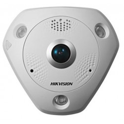 Hikvision Fisheye IP 3MP 360° IP66 WDR POE Audio/Alarma IR 10m