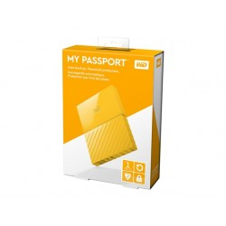 "WD MY Passport 2.5"" 1TB Yellow USB3.0"
