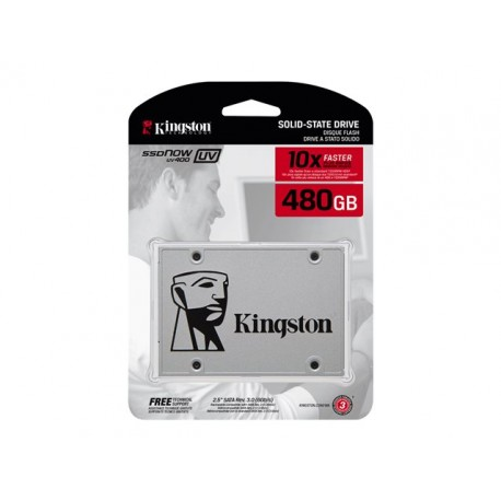 Kingston 480GB SSDNow UV400 SATA 3 2.5 (7mm height)
