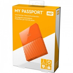 "WD MY Passport 2.5"" 1TB Orange USB3.0"