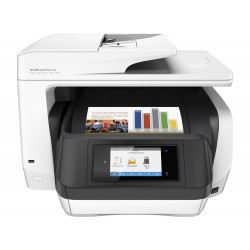 HP 8720 All-in-One - hasta 37 ppm (mono) - capacidad: 250 sheets