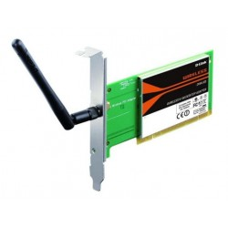 D-Link Tarjeta de Red PCI Inalámbrico N150 Wireless 11G/11N B.L.P DWA-525