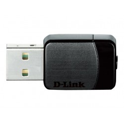 D-Link Adaptador de red Small USB Wireless AC600 Dual Band DWA-171