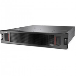 Lenovo Storage S2200 SFF with Dual FC and iSCSI Controller