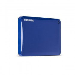 Disco portátil Toshiba Canvio Connect II V8 1TB AZUL USB 3.0