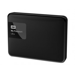 "Disco Portatil WD Passport 2.5"" 1TB Classic Black USB3.0"